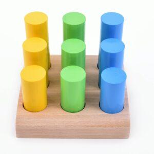 Špalíčková vkládačka 3x3