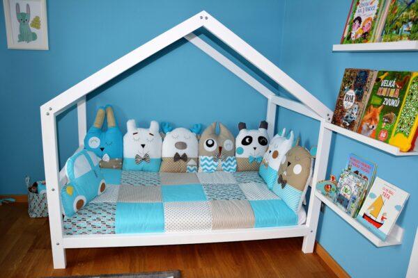 Domečková postel 140x80 cm