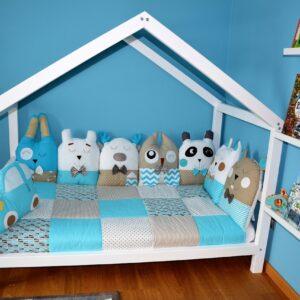 Domečková postel 140x70 cm